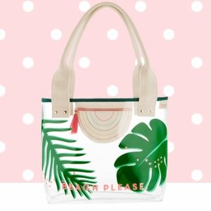 Benefit Beach Please Clear Tote